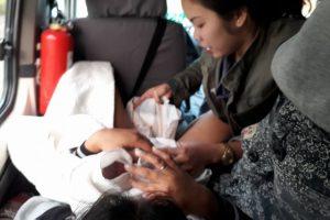 Nursing Student Helps Deliver Baby in a Passenger Van