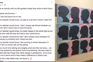 Teacher Discovers Students' Heartbreaking Secrets During Class Activity