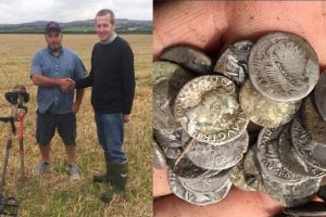 Amateur Treasure Hunter Finds $260k Worth of Old Coins from Roman Era