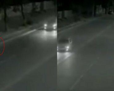 Superhero Caught On Cam: Real-Life Flash Saves Girl From Being Run Over By A Car