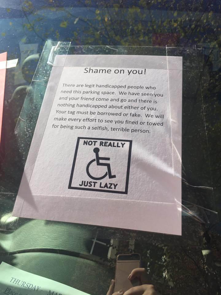 Handicapped 1
