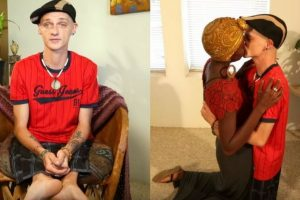 Man With No Thighs Keeps Positive Outlook In Life, Finds True Love Through Facebook