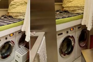 OFW Made To Sleep On Top Of Two Washing Machines In Hong Kong