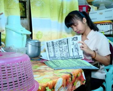 Daughter of 'Kwek-Kwek' Vendor Ranks Sixth in Teachers' Board Exams