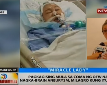 Employer Earns Praise for Helping OFW Who Suffered from Brain Aneurysm