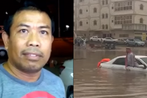 Pinoy Earns Praise for Helping Saudi Man Trapped in the Flood
