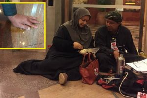 Caltex Operator Superglues Hand to the Floor in Protest of Unjust Service Termination