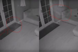 Caught On Cam: House That Was Once Used As A Hospital Has Uninvited Guests