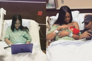 Student Who Finished Her Finals While On Labor Gained Praises From Netizens