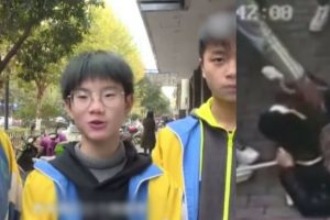 Old Woman Tried To Extort $15,000 From Highschool Boys Who Helped Her When She Tripped
