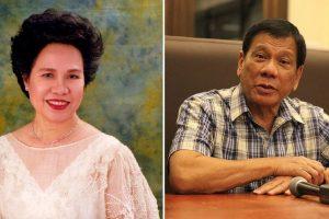 Miriam Nominated for Highest Civil Service Award by Duterte
