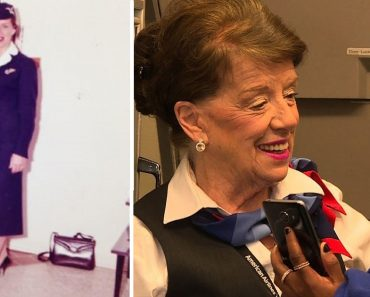 She's Turning 82 on New Year's Eve but This Flight Attendant has No Plans of Retiring Soon