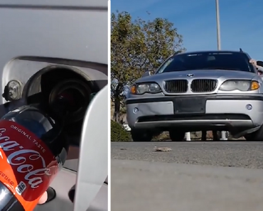 These Guys Pour Coke into BMW to See if Cars Can Run on This 'Alternative Fuel'