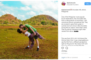 This Couple Travels Around the World and Takes the Same 'Dip Kiss' Pose