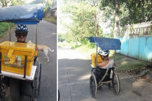 Disabled Vendor Earns Praise for Being Hardworking Despite Condition
