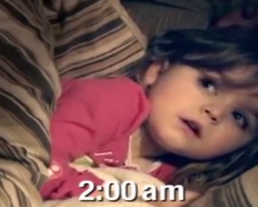 3-Year-Old Girl has Strange Condition that Keeps Her Awake During the Night