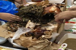 Family Receives Ribless 'Lechon' Filled Mostly with Lots of Leaves for Christmas