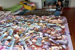 This Family Saved So Much Money It Can Cover Their Beds!