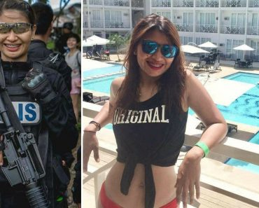 This Beautiful Cop is the Only Woman Who Joined SWAT Training for Class 'ALAKDAN'