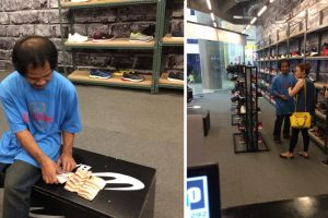 Hardworking Man Only had Php20 Bills in Savings to Buy Shoes, Receives Help from Kindhearted Woman