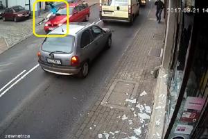 Man Receives Instant Karmic Justice after Destroying Shop Windows