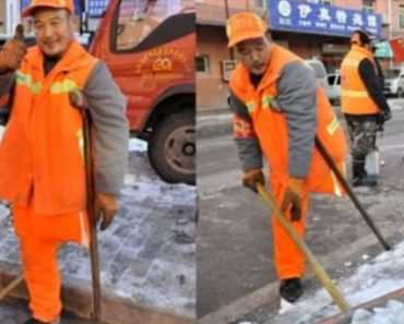 Deaf, Mute, And One-Legged Worker Haven't Had A Day Off In 12 Years, And He Is Happy About It