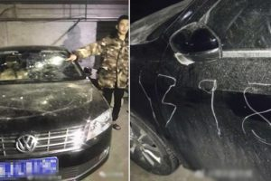 Emotional Teen Carves Busy Dad's Number on Random Car to Make Him Come Home