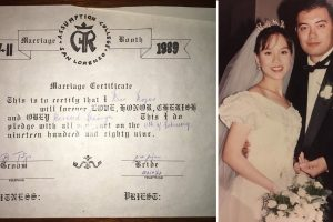 High School Sweethearts Who Got Married in School Fair, End Up Marrying in Real Life