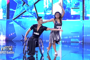 Angel Locsin Pushes 'Golden Buzzer' on Emotional Performance of Disabled Dancer