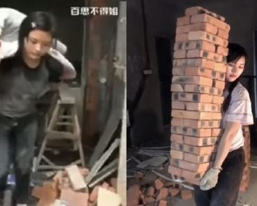 Beautiful Construction Worker Goes Viral for Looks and Being Hardworking