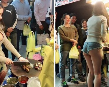 Busty Babe in Skimpy Outfit Helps Taiwanese Vendor Quadruple Sales in One Day