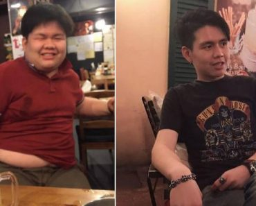Obese Guy Transforms into Impressive Hunk after Getting Rejected by Girl He Likes