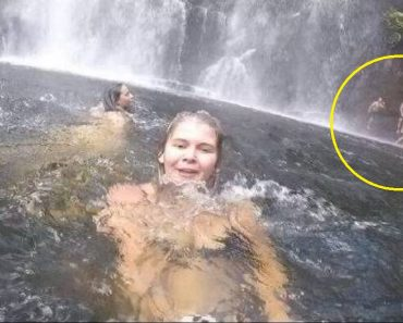 Woman Uses Her GoPro While Swimming at Falls, Accidentally Captures Moment a Man Drowns