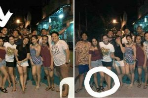 Graduating Student Shares Creepy Photos of Himself Partly 'Disappearing' in Group Photos