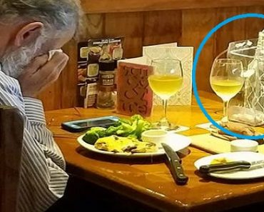 Elderly Man Takes Late Wife's Ashes on Dinner Date, Breaks Hearts