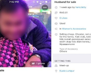 Scorned Wife 'Sells' Husband, 'Rents' His Mistress on Online Marketplace