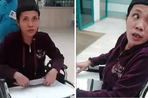 Domestic Helper Unable to Walk after Falling from Employer's House, Seeks Help to Go Back to PH