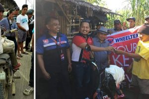 Wheeltek Gifts Old Man a Brand New Motorcycle after He was Caught in Traffic Violation