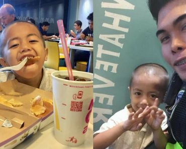 Kindhearted Policeman Takes A 3-YO Child For A Meal And Grants His Wish In The Process