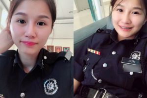 Malaysian Pretty Policewoman Accused As Thief By A Rude Man Who Lost His Phone Has Her Cool Comeback