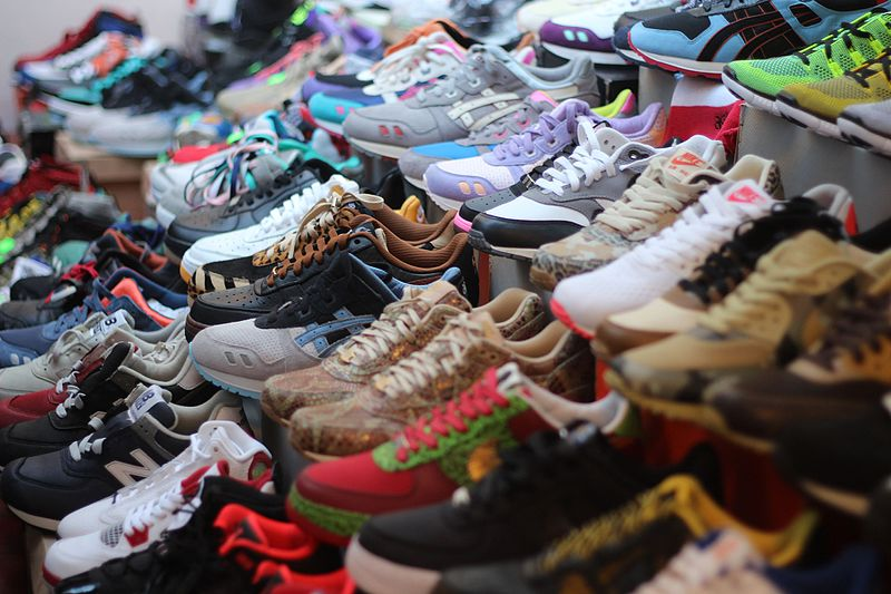 There are many stores in China selling cheap, fake items. [Image Credit: Wikipedia]