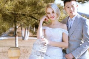 No Dowry, Just Love: Netizens are Jealous After a Pretty Ukrainian Girl Marries a Chinese Man And Did Not Ask For Any Dowry