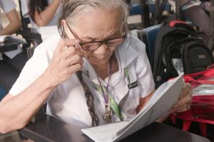 This 80-Year-Old Woman Studies in Grade 11, Never Misses a Day in School