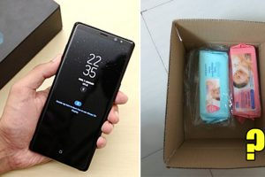 Man Receives Tissues Instead of Samsung Note 8 Ordered from Online Store