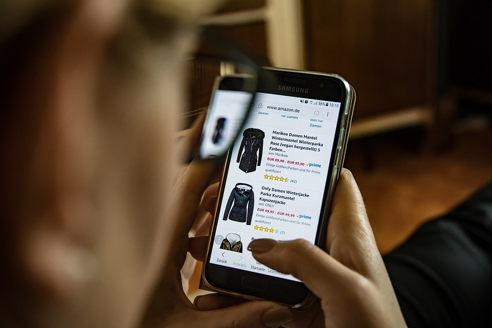 Your online shopping habits will be recorded.