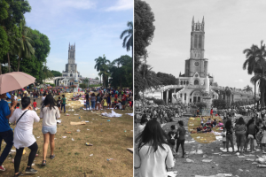 Devotees Leave Lots of Trash at Grotto of Our Lady of Lourdes