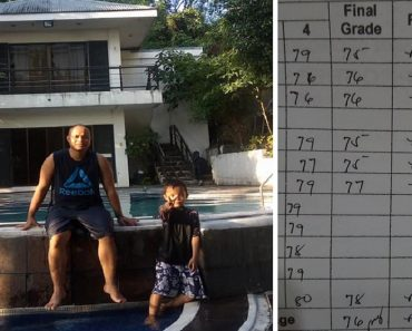 Dad Earns Praise for Being Proud of Son, Despite Barely Passing Grades