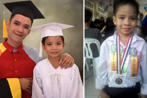 Jollibee Worker Graduates College Together with Day-Care Graduate Son, Shares Inspiring Story