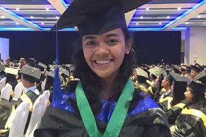 Daughter of Food Vendor Graduates Magna Cum Laude in Education Course