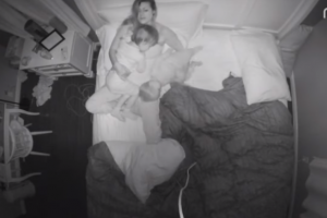 Mom Takes Time-Lapse Video of Restless but Sweet Night with Kids